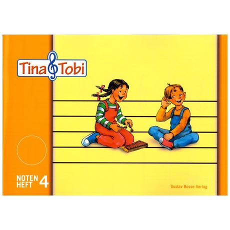 Tina und Tobi: Notenheft 4