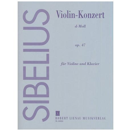 Sibelius, J.: Violinkonzert Op. 47 d-Moll