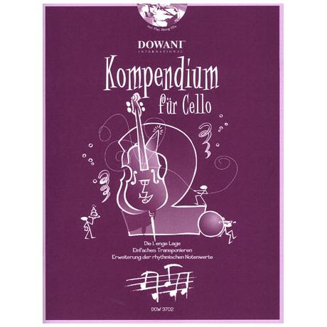 Kompendium für Cello - Band 2 (+CD)