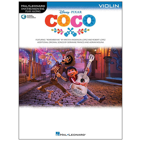 Coco for Violin (+Online Audio)