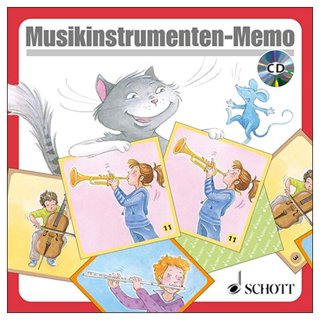 Musikinstrumenten-Memo (+CD)