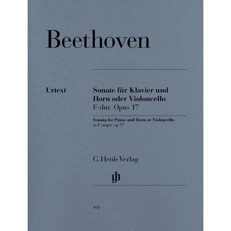 Beethoven, L. v.: Violoncellosonate Op. 17 F-Dur