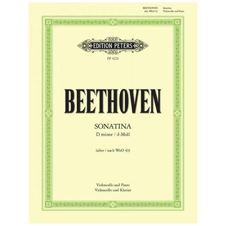 Beethoven, L. v.: Sonatina d-Moll nach WoO 43