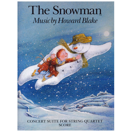 Blake, H.: The Snowman – Partitur