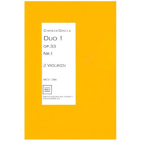 Dancla, C.: Duo Op.33 Nr.1