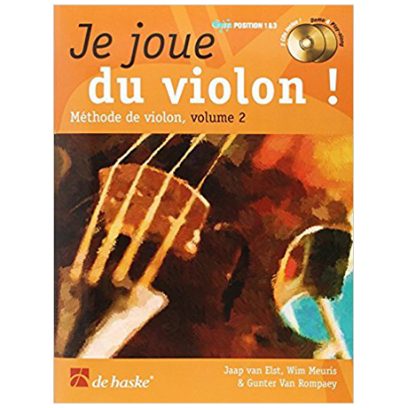 Elst, J. v.: Je joue du violon ! Vol. 2 (+2 CDs)