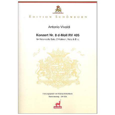 Vivaldi, A.: Konzert Nr. 8 d-Moll RV 405