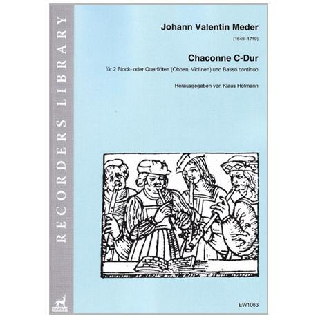 Meder, J. V.: Chaconne C-Dur