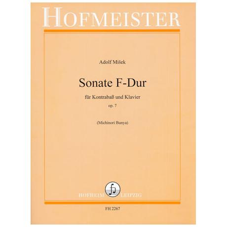 Misek, A.: Sonate F-Dur Op.7