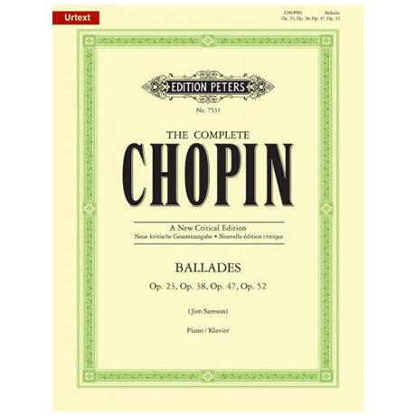 Chopin, F.: Balladen Op. 23, 38, 47, 52