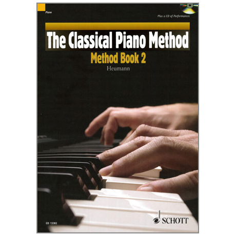 Heumann, H.-G.: The Classical Piano Method – Method Band 2 (+CD)
