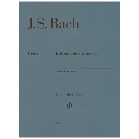 Bach, J. S.: Italienisches Konzert BWV 971