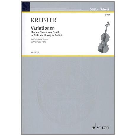 Kreisler, F.: Variationen über ein Thema von Corelli im Stile von Guiseppe Tartini