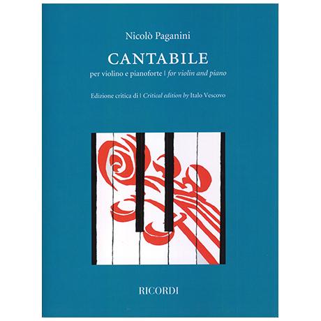 Paganini, N.: Cantabile
