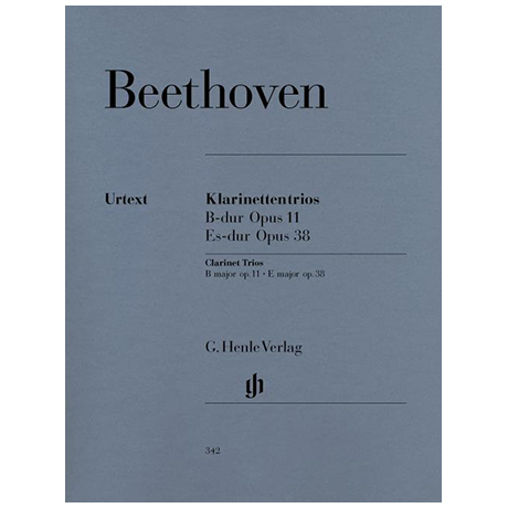 Beethoven, L. v.: Klaviertrios Op. 11 B-Dur und Op. 38 Es-Dur