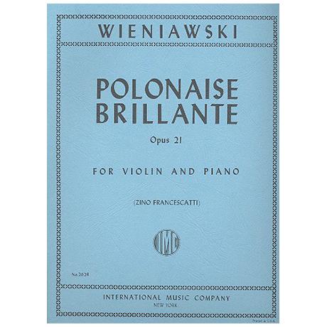 Wieniawski, H.: Polonaise brillante Op. 21 a-Moll