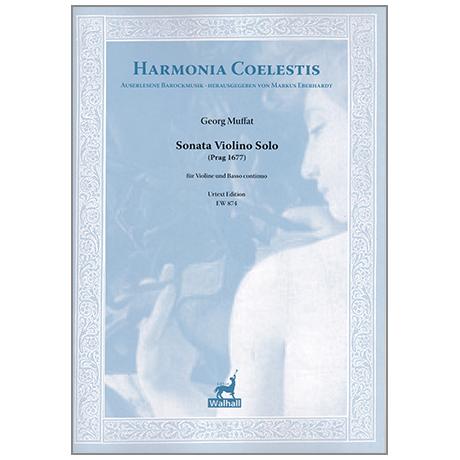 Muffat, G.: Sonata Violino Solo