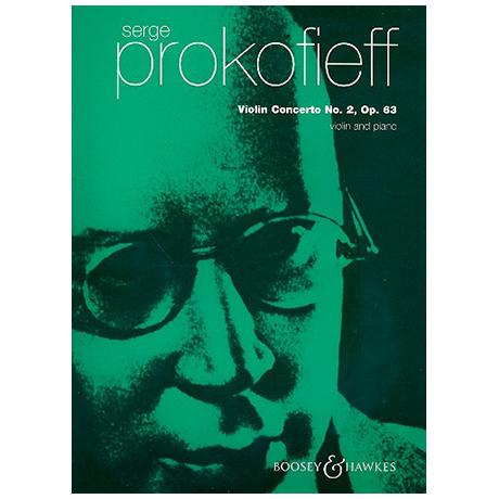 Prokofjew, S.: Violinkonzert Nr.2 g-Moll Op.63