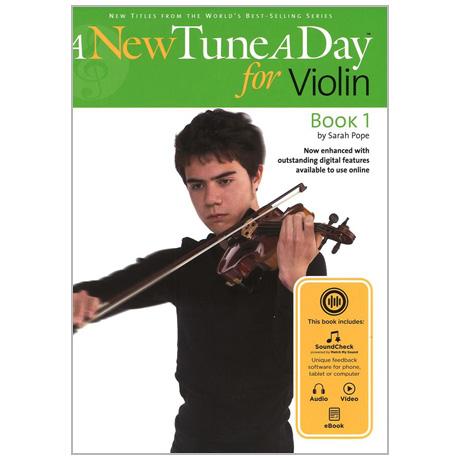 A New Tune a Day: Violin – Book 1 (+Online Audio)