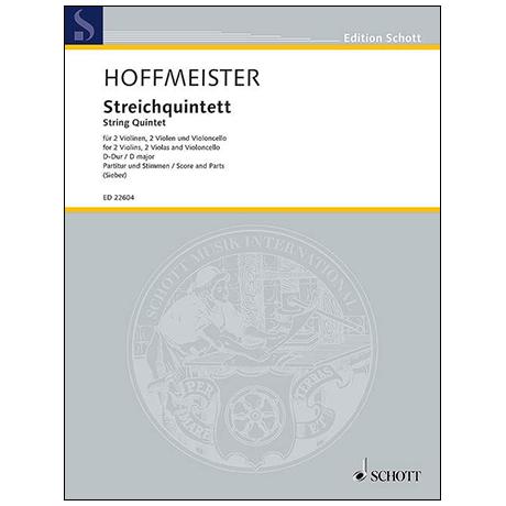 Hoffmeister, F. A.: Streichquintett D-Dur