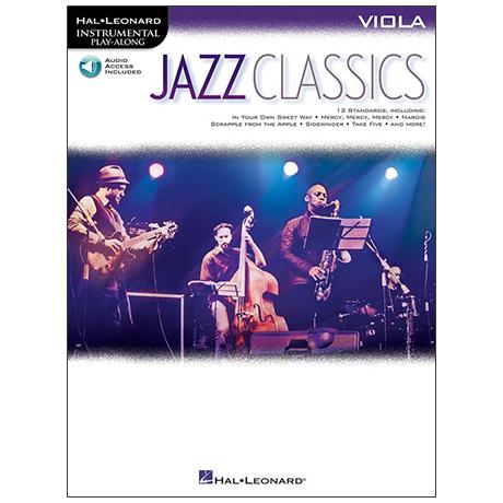 Jazz Classics for Viola (+Online Audio)