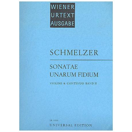 Schmelzer, J.H.: Sonatae unarum fidium Band 2