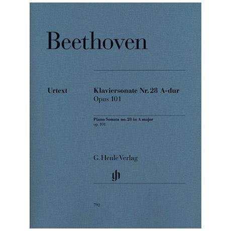 Beethoven, L. v.: Klaviersonate Nr. 28 A-Dur Op. 101