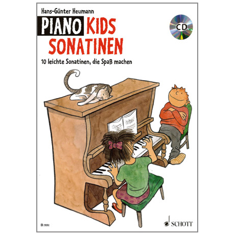 Heumann, H.-G.: Piano Kids Sonatinen (+CD)
