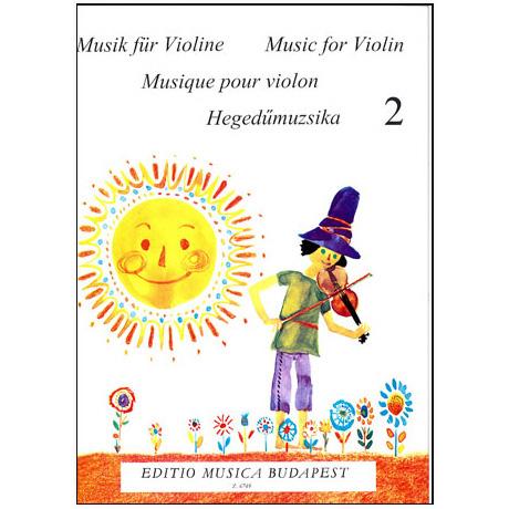 Lenkei, G.: Violinmusik für Anfänger Band 2