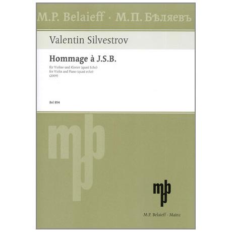 Silvestrov, V.: Hommage à J. S. B.