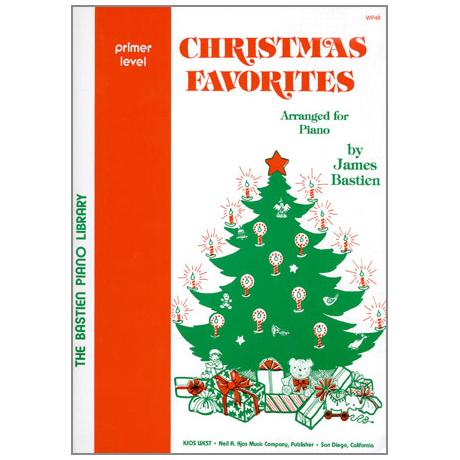 Bastien, J.: Christmas Favorites – Grundstufe