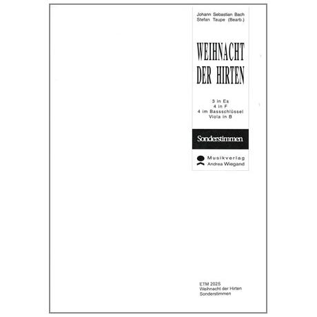 Bach, J.S.: Weihnacht der Hirten - Auszug aus dem Weihnachtsoratorium
