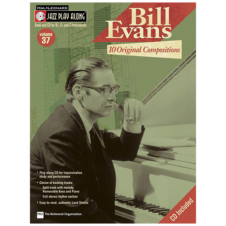 Bill Evans – 10 Original Compositions (+CD)