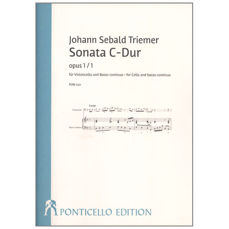 Triemer, J. S.: Violoncellosonate Op. 1/1 C-Dur