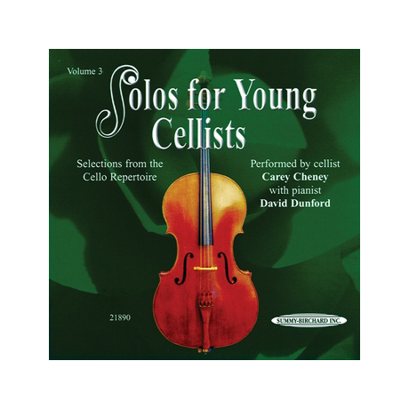 Solos for young Cellists Vol.3 (nur CD)