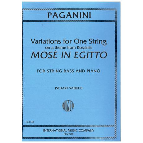 Paganini, N.: Variationen auf der G-Saite über ein Thema von Rossini