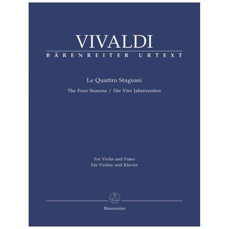 Vivaldi, A.: Die Vier Jahreszeiten Op.8 Nr. 1-4