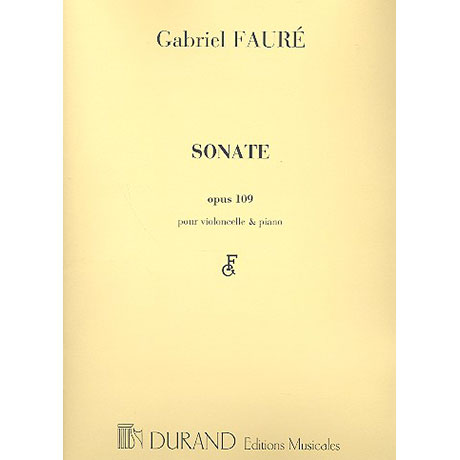 Fauré, G.: Sonate Nr.1 Op.109