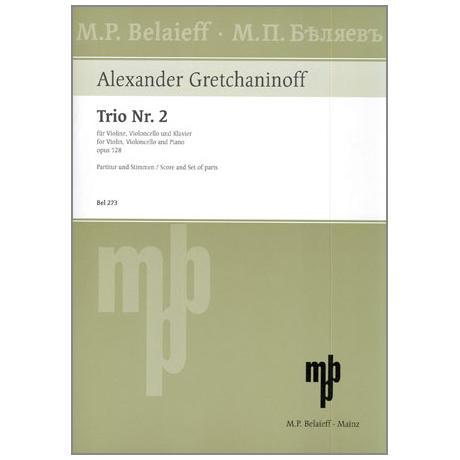 Gretschaninow, A.: Klaviertrio Nr. 2 Op. 128 G-Dur (1930)