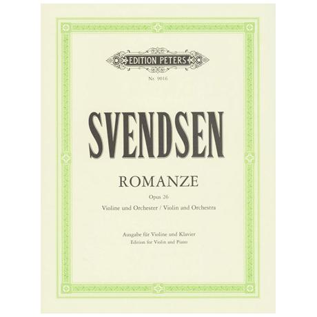 Svendsen, Johan Severin: Romanze op.26