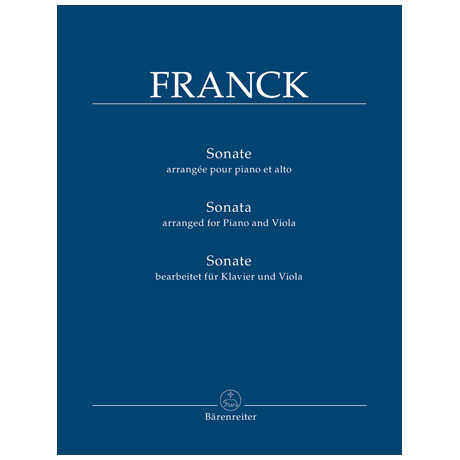 Franck, C.: Violasonate