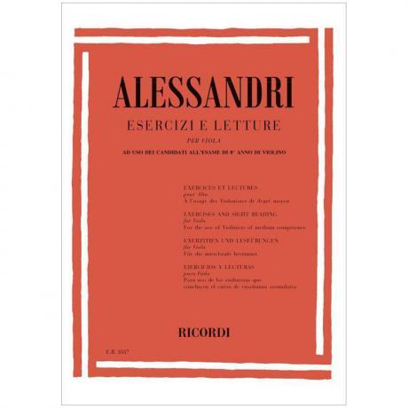 Alessandri, G.: Exerzitien und Leseübungen
