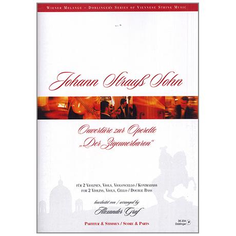 Strauss, J. (Sohn): Ouvertüre zur Operette »Der Zigeunerbaron«