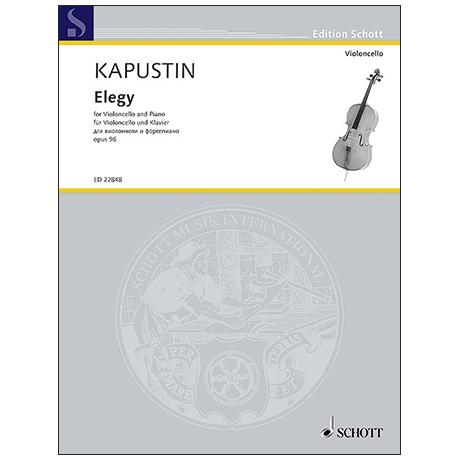 Kapustin, N.: Elegie Op. 96 (1999)