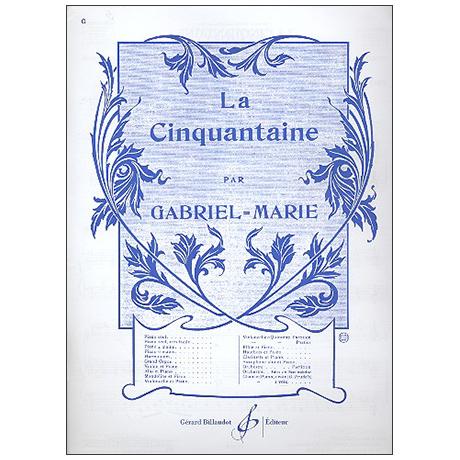 Gabriel-Marie, J. P.: La Cinquantaine
