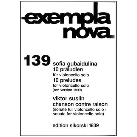 Gubaidulina, S. / Suslin, V.: 10 Präludien / Chanson contre raison