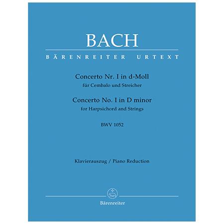 Bach, J. S.: Cembalokonzert Nr. 1 BWV 1052 d-Moll