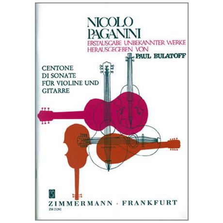 Paganini, N.: Centone di Sonata