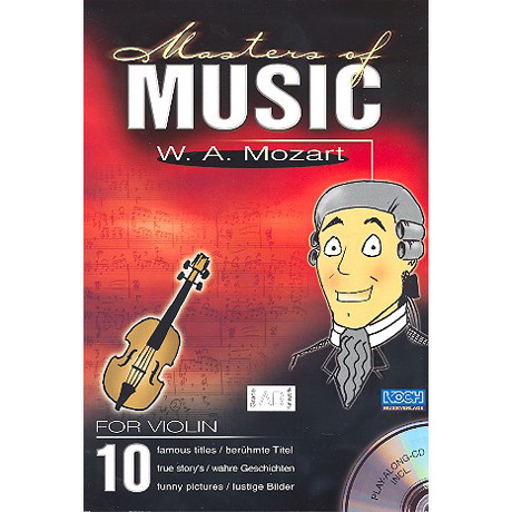 Masters Of Music: W.A. Mozart (+CD)