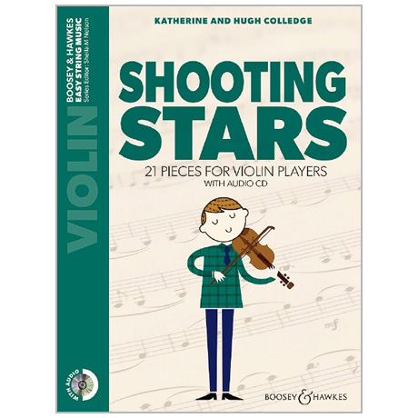 Colledge, K. & H.: Shooting Stars for Violin (+CD)